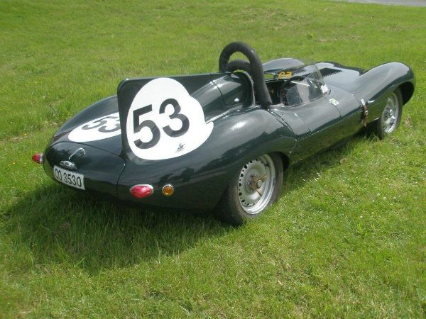 D-type Jaguar Tempero Replica Gallery 14