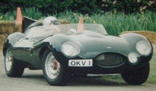 D-type Jaguar Tempero Replica Gallery 16