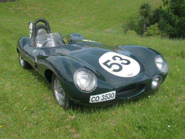 D-type Jaguar Tempero Replica Gallery 8