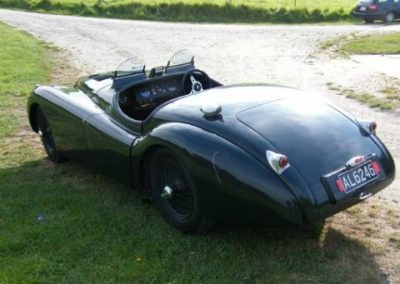 XK120 JaguarLe Mans 1