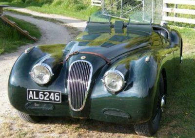 XK120 JaguarLe Mans 2
