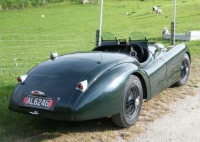 XK120 JaguarLe Mans 3