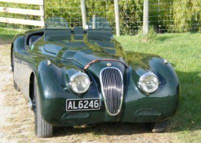 XK120 JaguarLe Mans 5