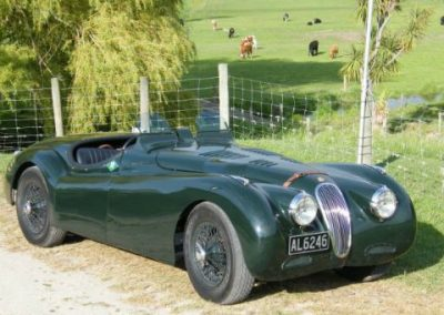 XK120 JaguarLe Mans 6